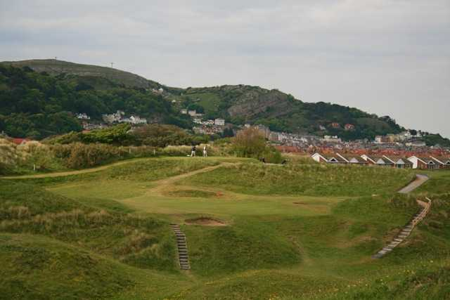 North Wales Golf Club ( Photo by B. Tucker)