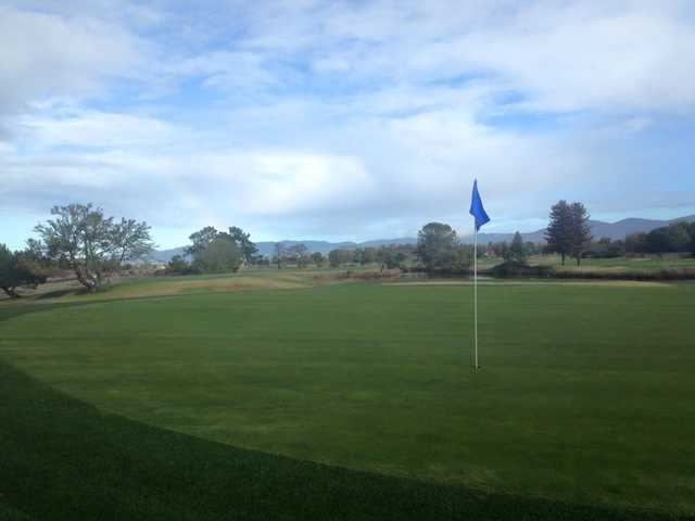 A view of a hole from Napa Golf Course at Kennedy Park.