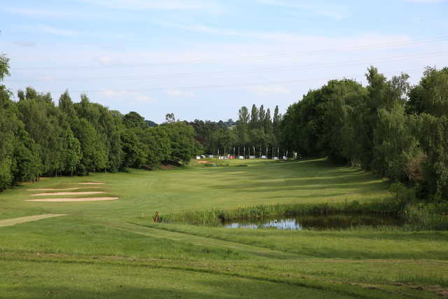 View of the finishing hole from the 18-Hole Course at Bawburgh Golf Club