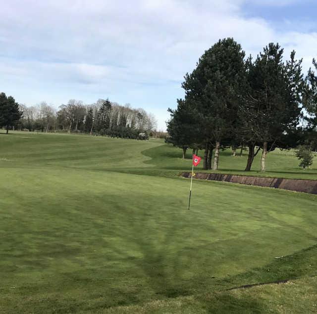 A view from Bawburgh Golf Club.