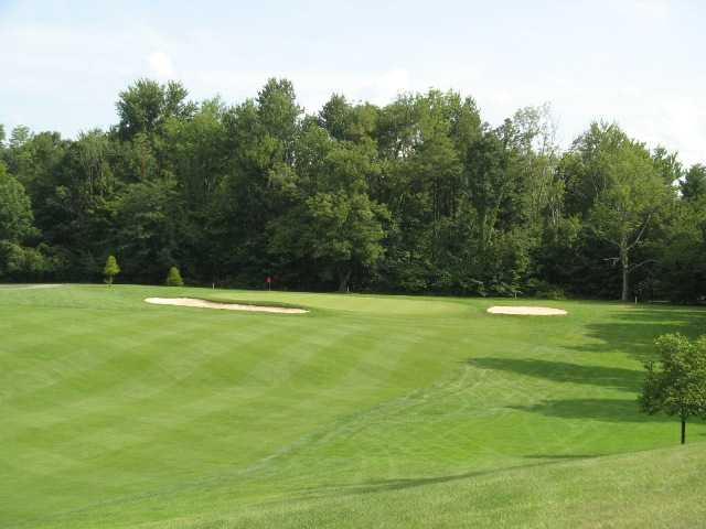 A view of the 12th green at High Lands Golf Club