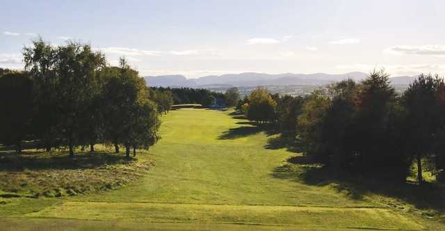 View from the 6th tee at Penrith Golf Club.