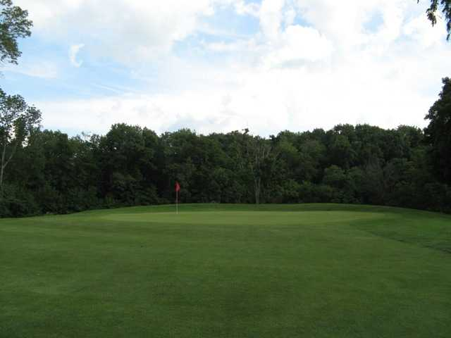A view of green #6 at High Lands Golf Club