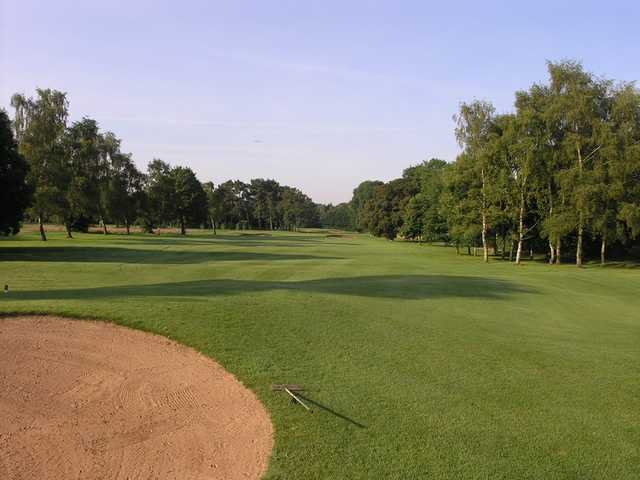 View from a fairway at Wetherby Golf Club