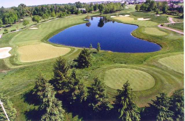 Aerial view from Wedgewood Golf & Country Club
