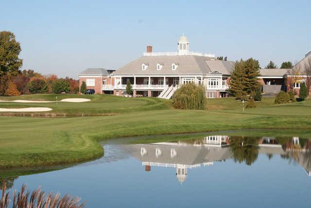 A view of the clubhouse at Wedgewood Golf & Country Club