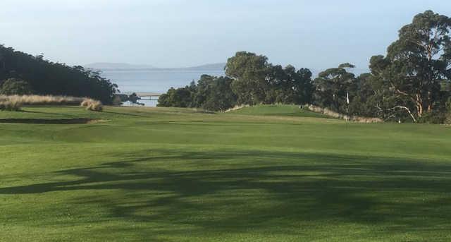 A view from Kingston Beach Golf Club