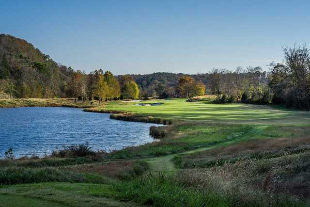 A view of fairway #11 at The Golf Club of Tennessee.