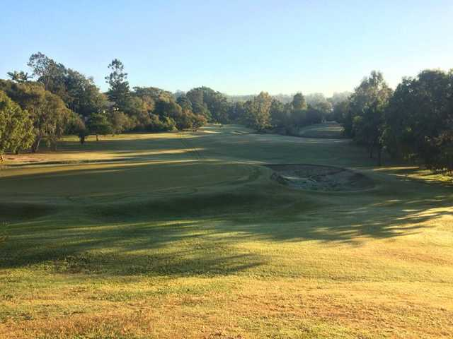 A view from Jindalee Golf Club