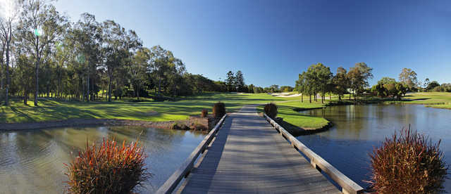 View of the 17th hole at Brisbane Golf Club