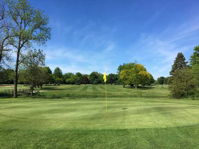 View of a green at Cherrywood Golf Club