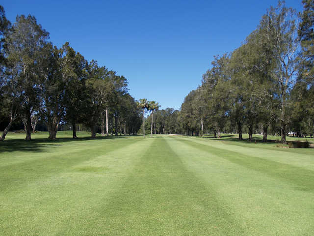 View from a fairway at Bayview Golf Club
