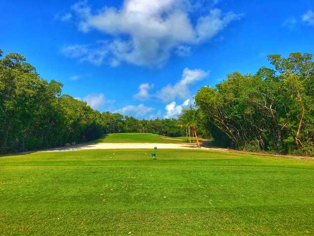 View from the 8th tee at Crandon Golf at Key Biscayne