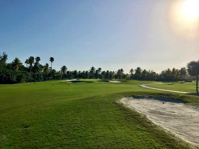 View of the 13th hole from Crandon Golf at Key Biscayne