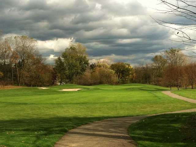 A view from a pathway at Brookshire Inn & Golf Club.