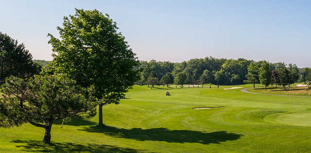A view of a fairway at the Links of Novi.