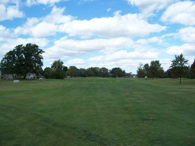 A view from a fairway at Wallinwood Springs Golf Club.