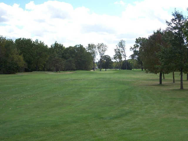 A view of a hole at Wallinwood Springs Golf Club.