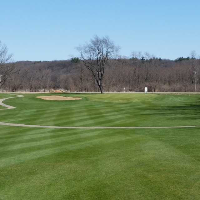 View of a green at Silver Ridge Golf Club