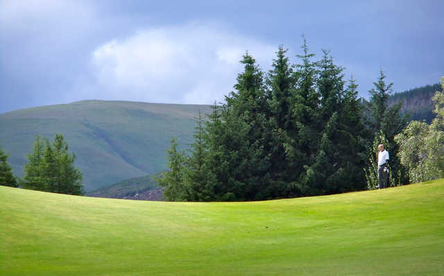 A view from Muckhart Golf Club