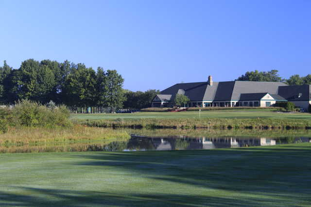 A view of the clubhouse at Medallion Club