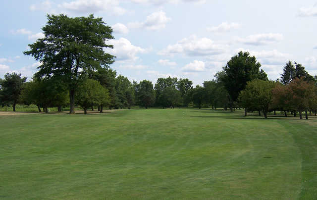 A view of a fairway at Royal Scot Golf Course.