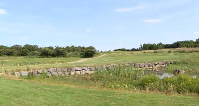 View of the 7th hole at Grove Golf Club.