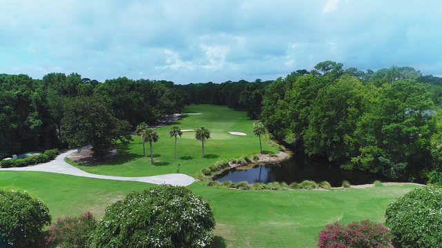 A view from Shipyard Golf Club.