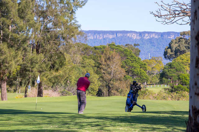 A view from Grange Golf Club