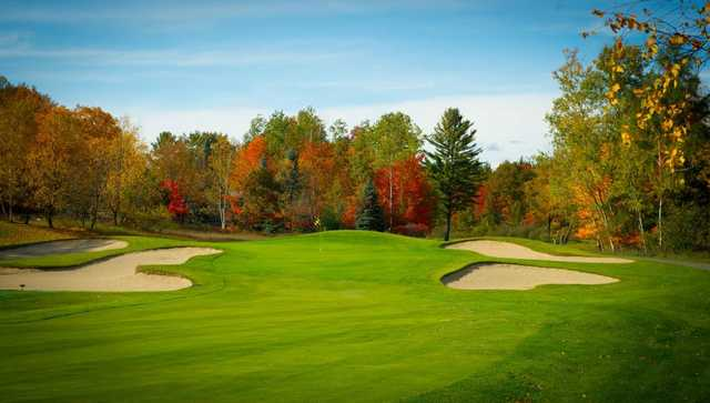 A view of hole #2 at The Lakes Golf Course.
