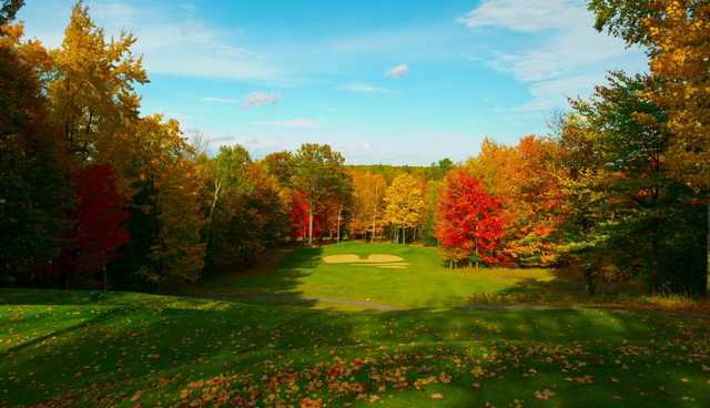 A view from tee #6 at The Lakes Golf Course.