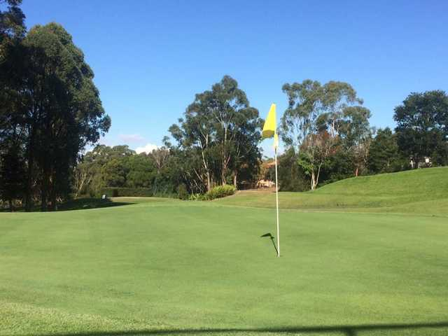 View from a green at Gordon Golf Club
