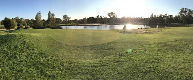 View of a green at Thurgoona Country Club Resort