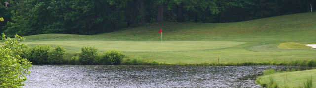 View of a green at Lake Monticello Golf Course