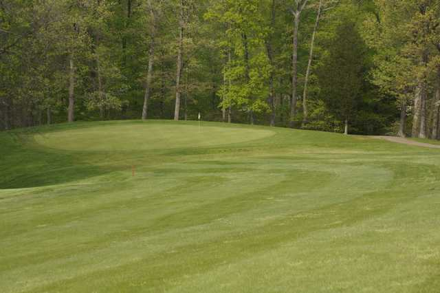 View of the 13th green at Doe Valley Golf Club