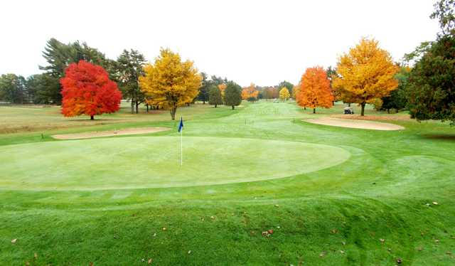 A view of hole #5 at Lincoln Golf Club.