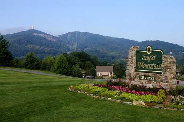 A view from Sugar Mountain Golf Club