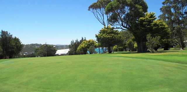 View from the Beachside Course 9th hole atMollymook Golf Club