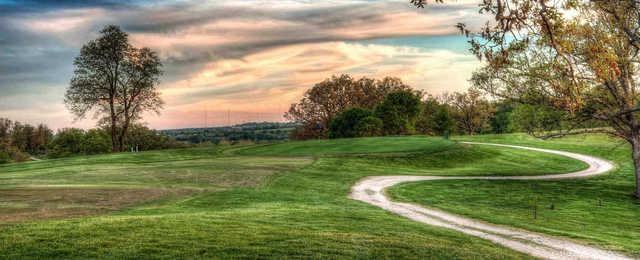 A view from Oak Hills Golf Center