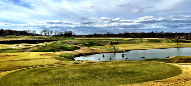 A view from GreyStone Golf Club