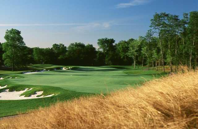 A view of fairway #8 at Grande Golf Club.