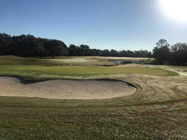 A view of hole #8 at Charlotte Harbor National Golf Club.