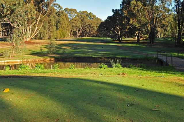 View from a tee at Benalla Golf Club