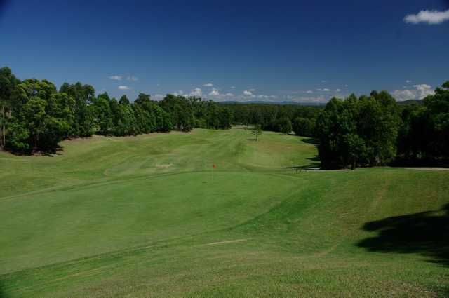 View of a green at Tallwoods Country Club
