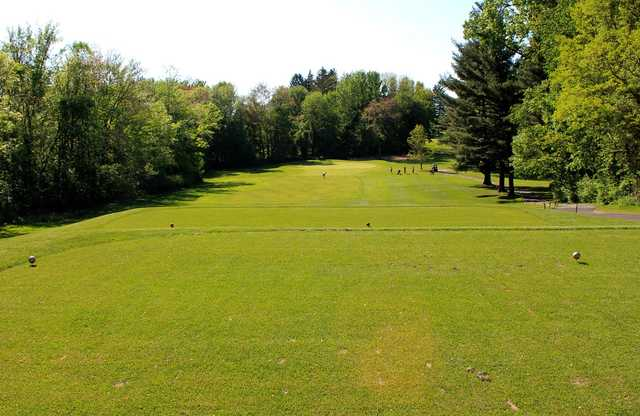 A view from tee #15 at Schenectady Golf Course.