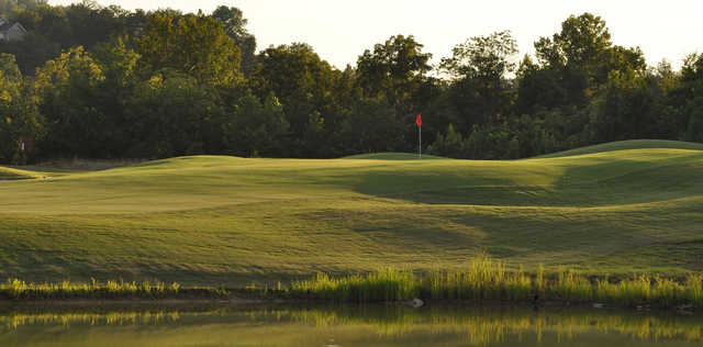 A view of a hole at Sevierville Golf Club.