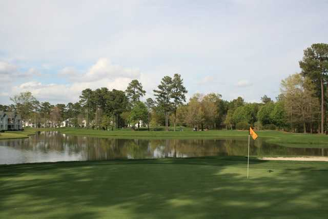 View from a green at Arrowhead Country Club
