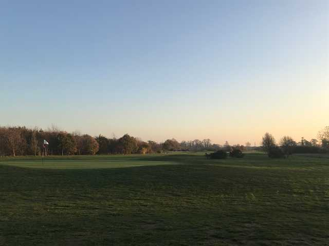 View of the 3rd hole at Richings Park Golf Club