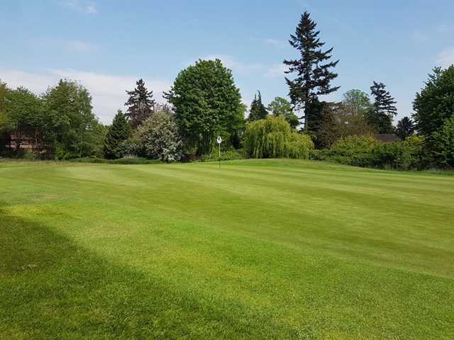 View of the 13th hole at Richings Park Golf Club