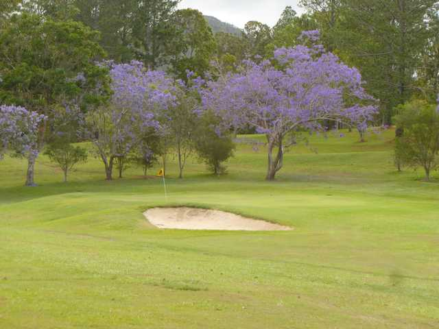View of a green at Atherton Golf Club